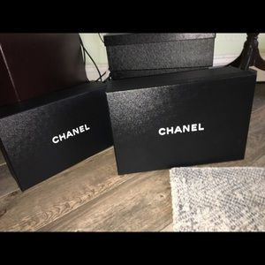 Reserved Chanel boxes